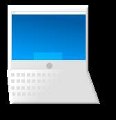 portatile bianco